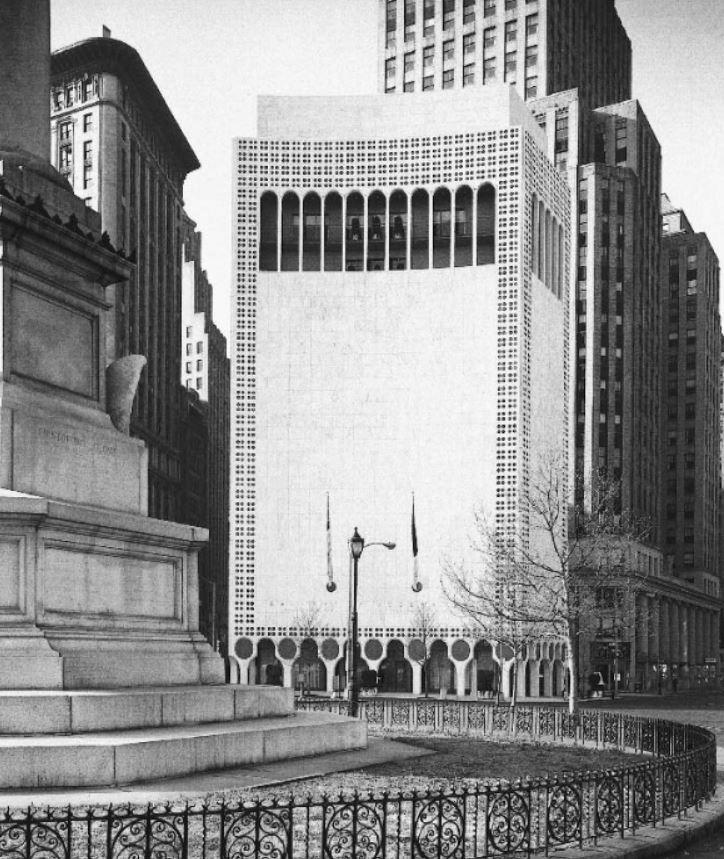 2 Columbus Circle (originally Huntington Hartford Gallery Of Modern Art,  Now Museum Of Art And Design)