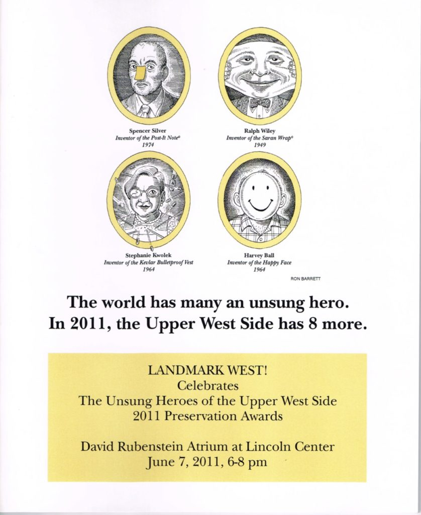 2011 Unsung Heroes Program Cover