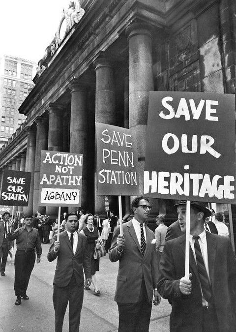 The History of Preserving History: Penn Station rally, 50 years later