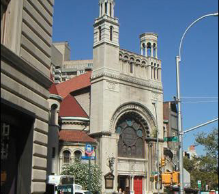 Broadway and 79th Street (First Baptist Church)