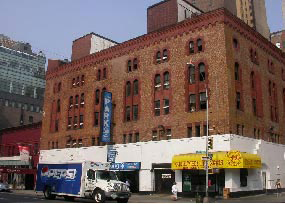 348-354 Amsterdam Avenue (Pyramid Garage - was Dakota Stables - Demolished)