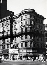 SW corner of Broadway and 72nd Street (Colonial Club – Demolished)
