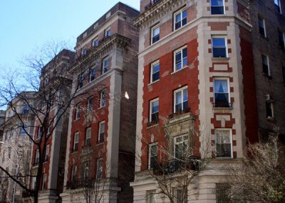 210-230 West 107th Street between Broadway and Amsterdam Avenue (Ivy Court)