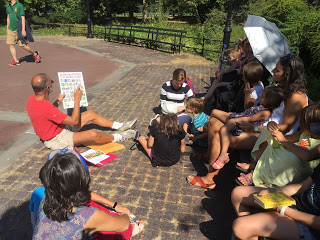 ABCs of Central Park, a Labor Day Tour for Kids