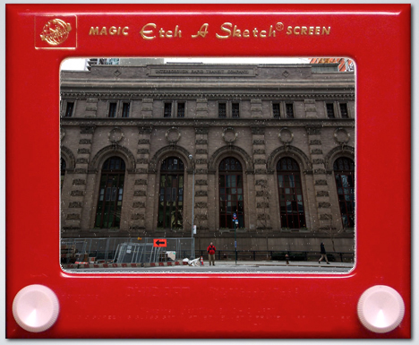 New York is a dynamic metropolis…it isn't a giant Etch A Sketch