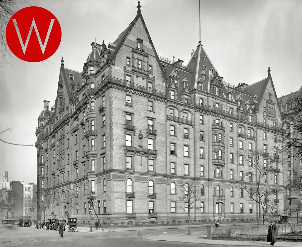 The Dakota Apartments (circa 1912, Detroit Publishing Company)