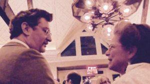 Master of Ceremonies Justin Davidson (left)