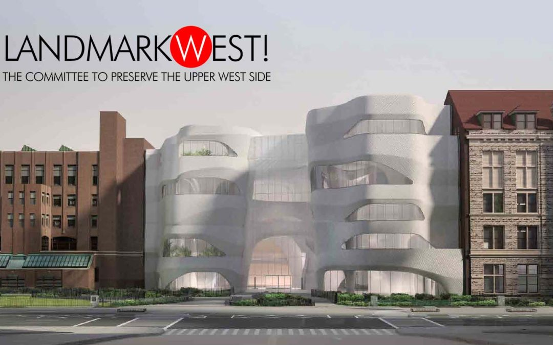 Testimony on proposed AMNH Expansion (UPDATED)