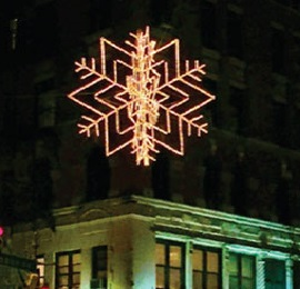 Sparkling Snowflakes Return to West 72nd Street