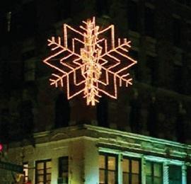 Sparkling Snowflakes Return to 72nd Street