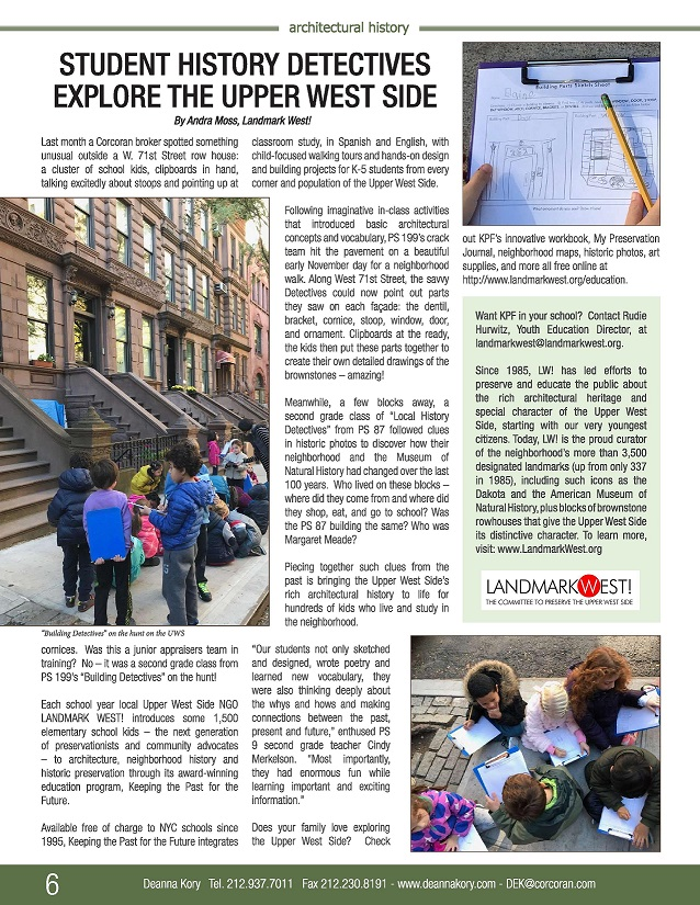 LW Student Detectives Hit the Streets