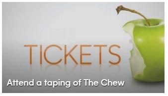 """The Chew"" at ABC Studios"