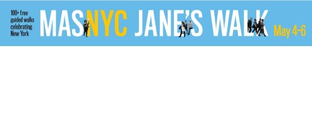 UWS JANE'S WALK – Saturday May 5th, 11am