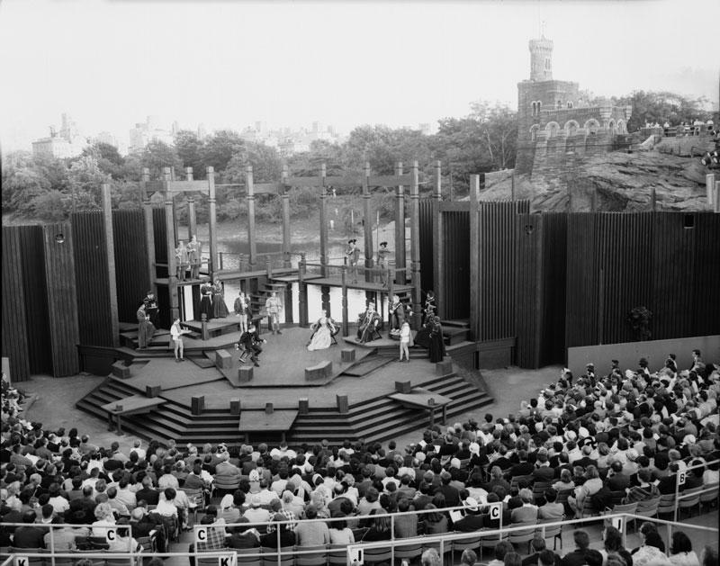 Behind-the-Scenery Tour of the Delacorte Theater