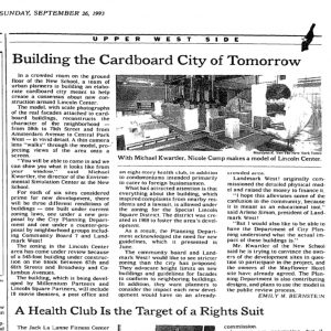 LOOKBACK: Building the Cardboard City of Tomorrow