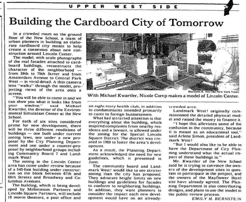 LOOKBACK: Building the Cardboard City of Tomorrow