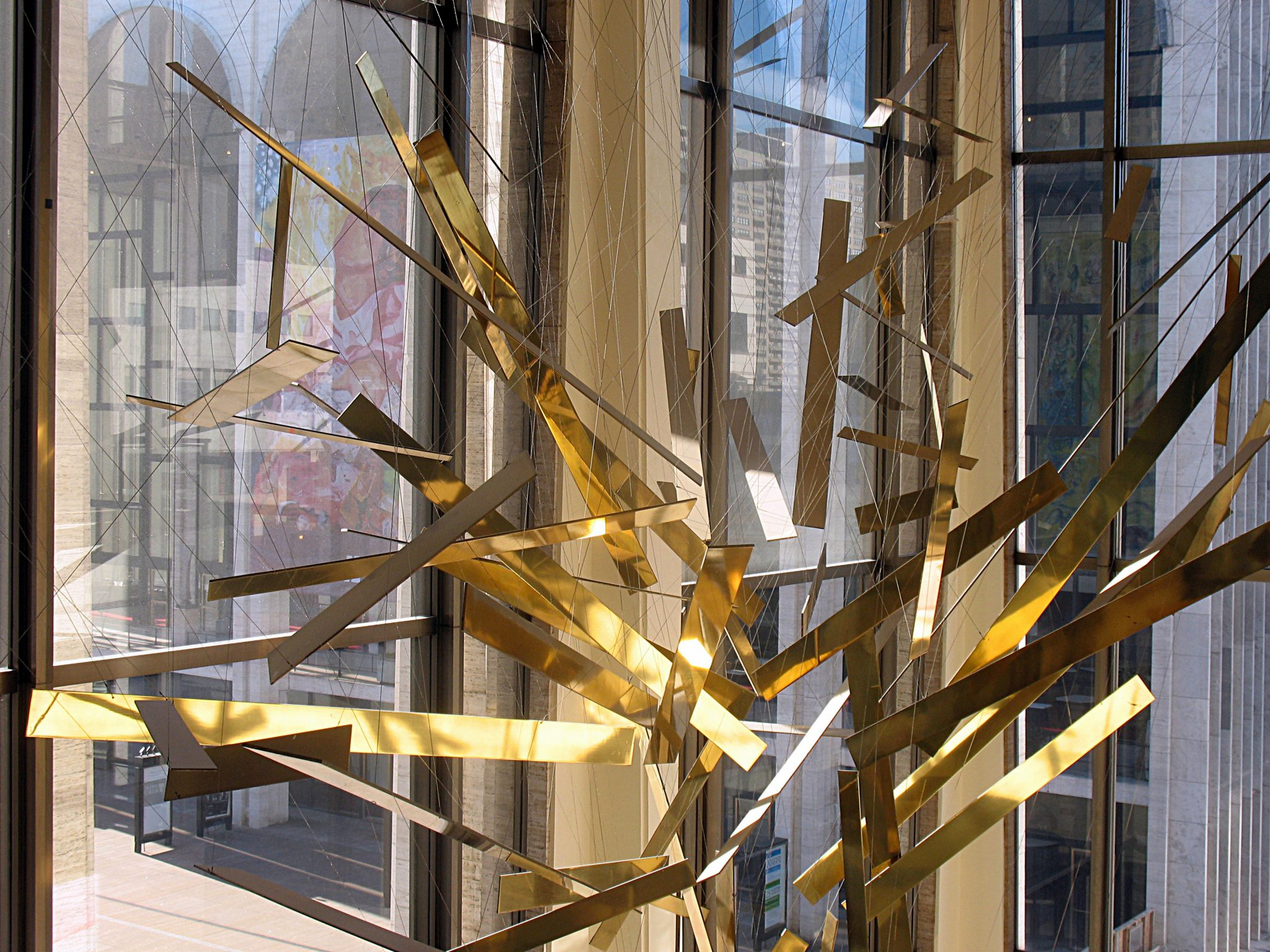 Seven to Save – UWS Gets Brassy with the PLNYS for the Richard Lippold Installation at Lincoln Center