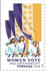 On the UWS: Creator of the USPS Suffragette Stamp