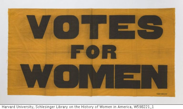 UWS Women and the Long Fight for Suffrage
