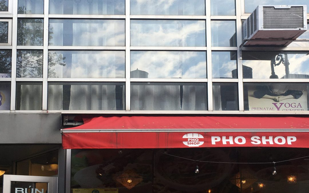 Vietnamese Street Food served at Pho Shop on West 72nd