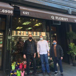 Pushcart to Q(Quality) Florist