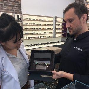 Buffalo Horn, Gold & Titanium: Classy Frames for Finely Made Lenses